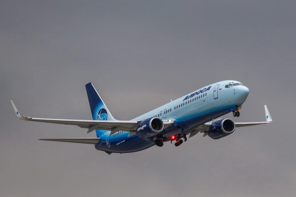 Авиакомпания «Алроса» открыла рейсы из Якутска в Москву и Новосибирск