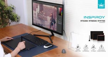 Новую линейку графических планшетов выпустила Huion