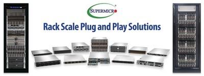 Решения Plug-n-Play для облачных вычислений, ИИ и 5G / Edge в ЦОД анонсирует Supermicro