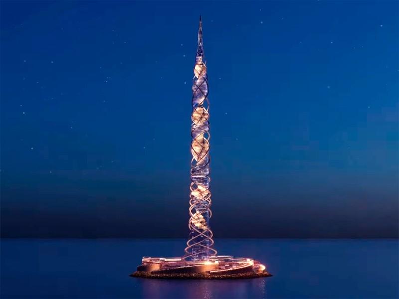 В «Газпроме» задумали построить в Санкт-Петербурге 703-метровый небоскреб «Лахта Центр 2» (ВИДЕО)