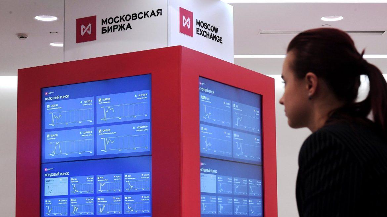 Российский рынок акций растет в начале недели