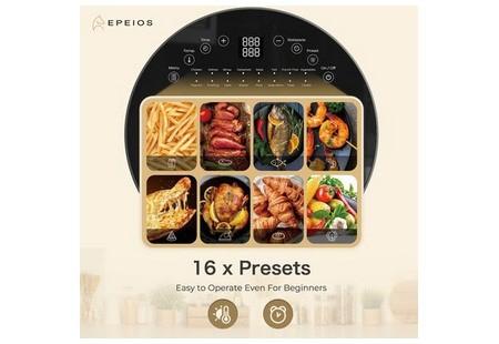 16 программ мультипечи EPEIOS CP247A помогут научиться готовить