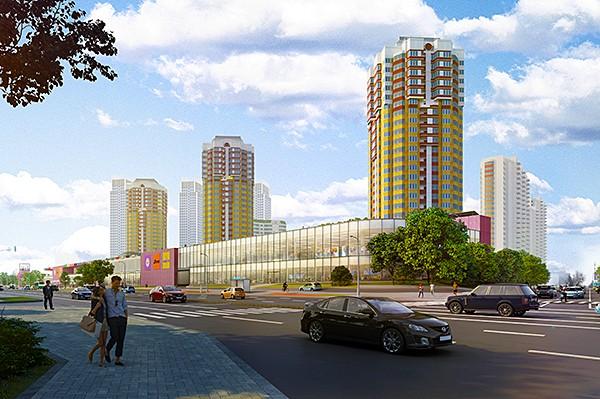 АО «Коммерческая недвижимость ФПК «Гарант-Инвест» вложила свыше 1 млрд руб. в строительство комплекса «West Mall» на западе Москвы
