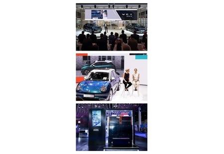 Демонстрация новых электромобилей GWM состоялась на IAA Mobility 2021 в Мюнхене