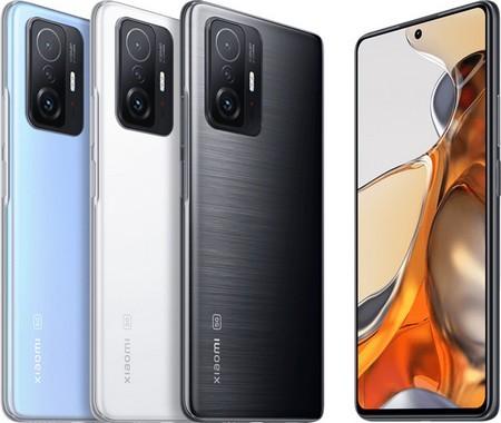 Представлены смартфоны Xiaomi 11T и 11T Pro со 120-Гц экраном