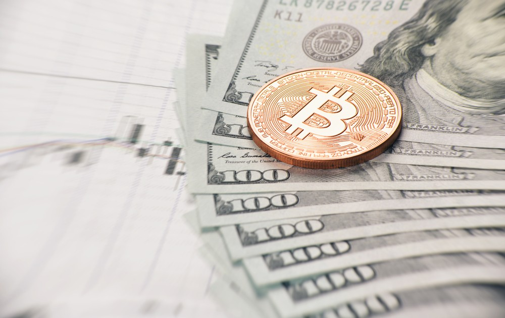Укрепление доллара США снизило цену биткоина