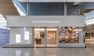 Концепцию «Les Caves Particulières» в аэропорту Парижа представляет Moët Hennessy