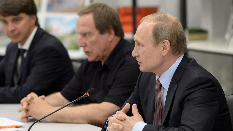 Путин наградил Ролдугина орденом «За заслуги перед Отечеством»
